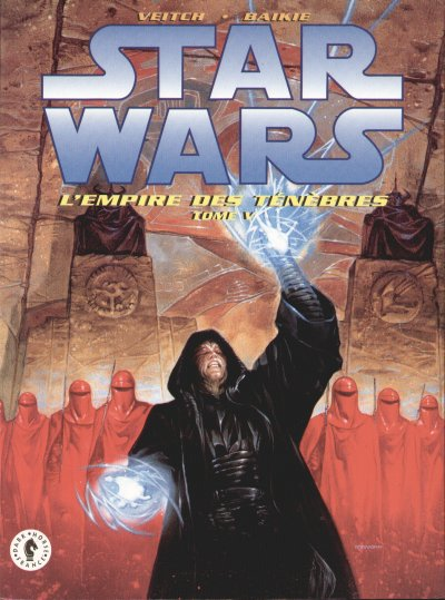 Couverture de Star Wars - L'empire des ténèbres (Dark Horse) -5- Tome 5