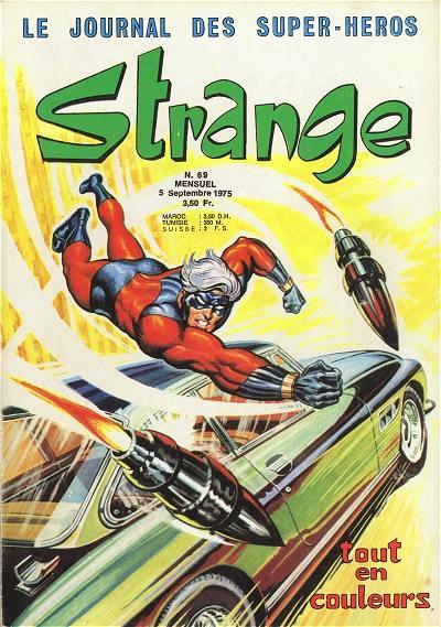 Couverture de Strange -69- Strange 69