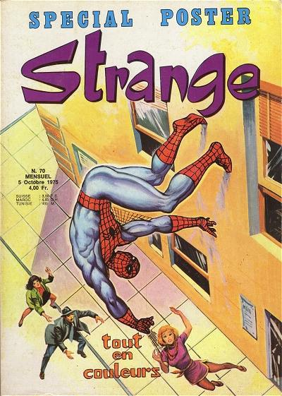Couverture de Strange -70- Strange 70