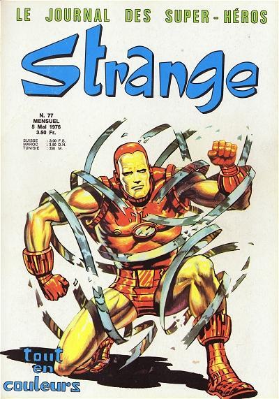 Couverture de Strange -77- Strange 77