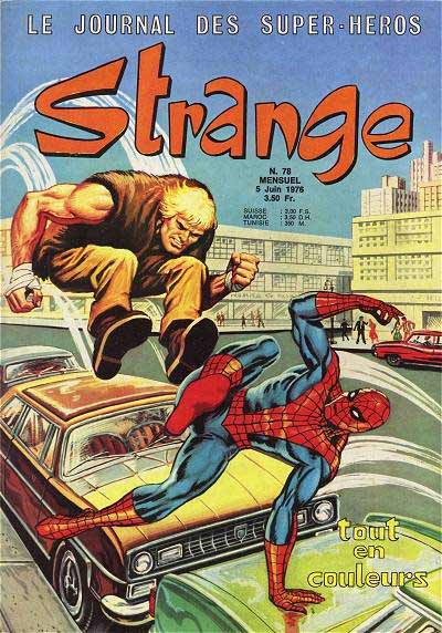 Couverture de Strange -78- Strange 78