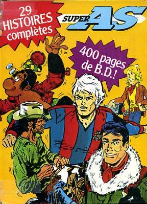 Couverture de (Recueil) Super As -6- Super AS 29 histoires complètes