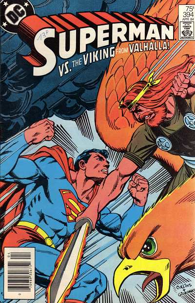 Couverture de Superman (1939) -394- The man who would be president (vs. the viking of Valhalla)