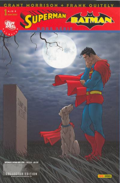 Couverture de Superman & Batman - Hors série (Panini) -1- Funérailles à Smallville