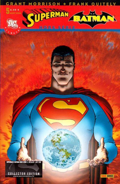 Couverture de Superman & Batman - Hors série (Panini) -5- Immortel