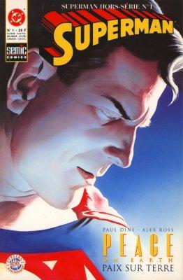 Couverture de Superman Hors Série (Semic) -1- Paix sur la Terre