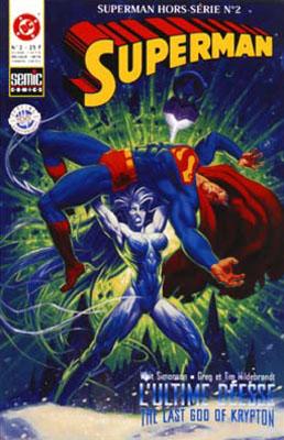 Couverture de Superman Hors Série (Semic) -2- L'ultime déesse