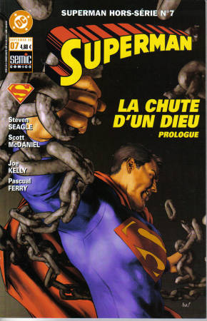 Couverture de Superman Hors Série (Semic) -7- La chute d'un dieu - Prologue