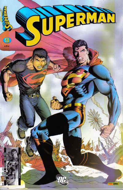 Couverture de Superman (Panini) -9- Parasites