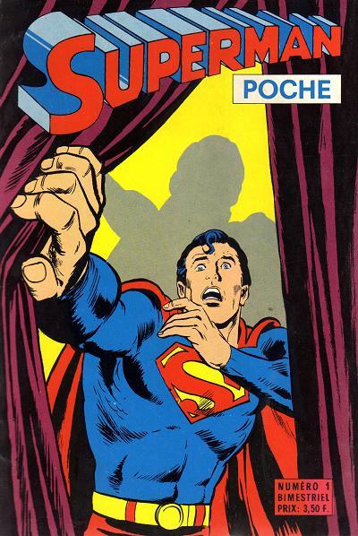 Couverture de Superman (Poche) (Sagédition) -1- La double identité de super-ordinateur