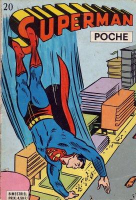 Couverture de Superman (Poche) (Sagédition) -20- Le quitte ou double de Superman
