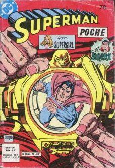 Couverture de Superman (Poche) (Sagédition) -78- Steve Lombard...K.O.?