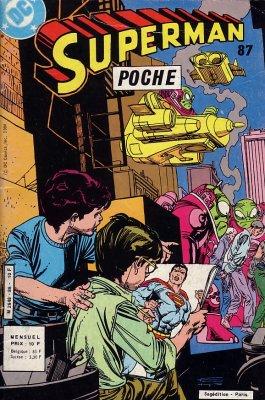 Couverture de Superman (Poche) (Sagédition) -87- Superman poche 87