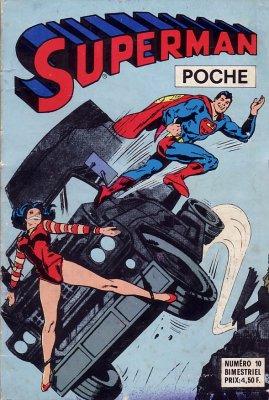 Couverture de Superman (Poche) (Sagédition) -10- Superman poche N°10