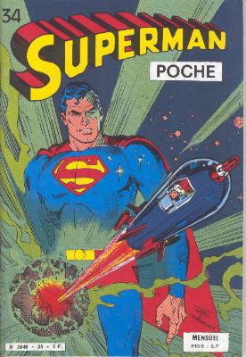 Couverture de Superman (Poche) (Sagédition) -34- Orphelin des étoiles