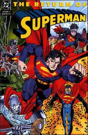 Couverture de Superman (TPB) -INT- The return of Superman