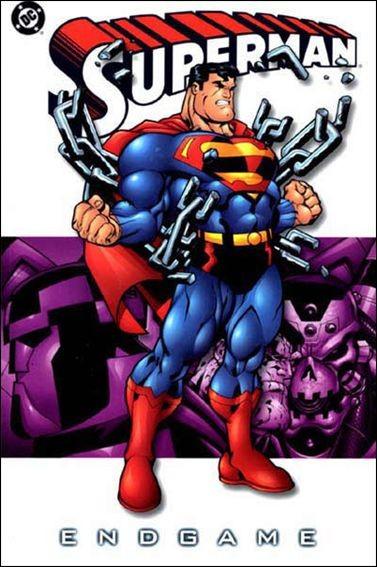 Couverture de Superman (TPB) -INT- Superman: End game