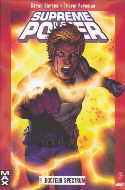 Couverture de Supreme Power -3- Docteur Spectrum