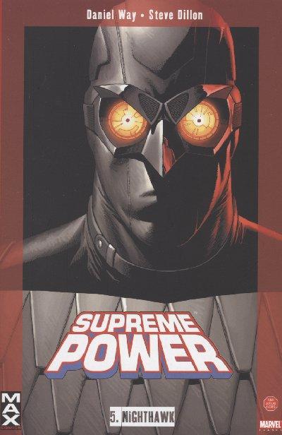 Couverture de Supreme Power -5- NightHawk