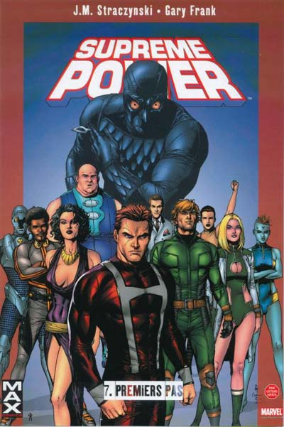 Couverture de Supreme Power -7- Premiers pas