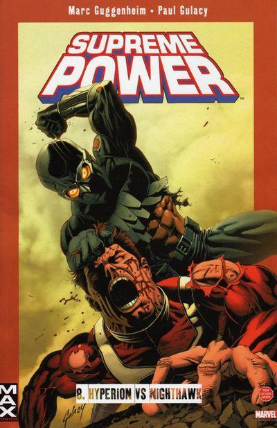 Couverture de Supreme Power -8- Hyperion vs Nighthawk