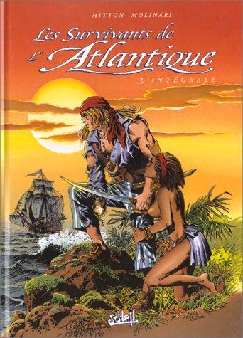 Couverture de Les survivants de l'Atlantique -INT2- Intégrale 4-5-6