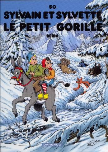 Couverture de Sylvain et Sylvette -50- Le petit gorille