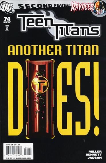 Couverture de Teen Titans (2003) -74- Child's play, part 3 : we all fall down