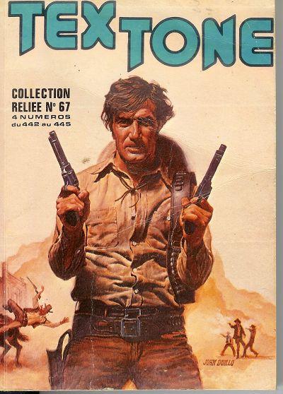 Couverture de Tex-Tone -Rec67- Collection reliée N°69 (du n°442 au n°445)