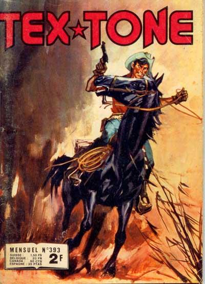 Couverture de Tex-Tone -393- Le joueur