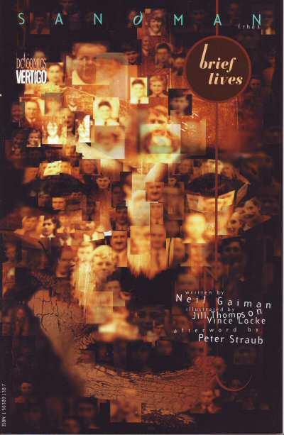 Couverture de Sandman (The) (1989) -INT07- Brief lives