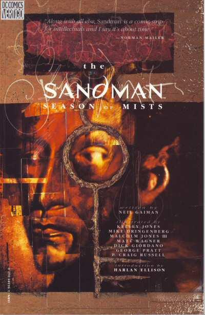 Couverture de Sandman (The) (1989) -INT04- Season of mists