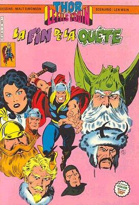 Couverture de Thor le fils d'Odin -22- La fin de la quête