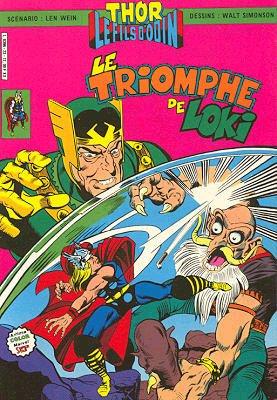 Couverture de Thor le fils d'Odin -23- Le triomphe de Loki