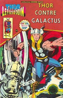 Couverture de Thor le fils d'Odin -2- Thor contre Galactus