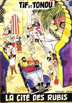 Couverture de Tif et Tondu -Pir1- La Cité des rubis