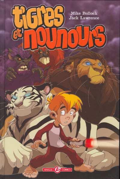 Couverture de Tigres et nounours - Le royaume des animaux en peluche