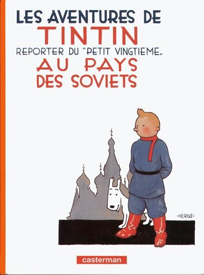 Couverture de Tintin -1- Tintin au pays des Soviets