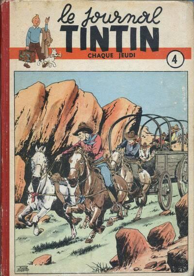 Couverture de (Recueil) Tintin (Album du journal - Édition belge) -4- Tome 4