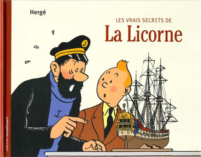 Couverture de Tintin - Divers -11- Les Vrais Secrets de La Licorne