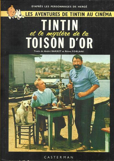 Couverture de Tintin - Divers -C1- Tintin et le mystère de la Toison d'Or