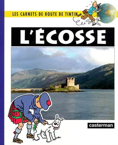 Couverture de Tintin - Divers -Car5- Carnets de route : L'Écosse