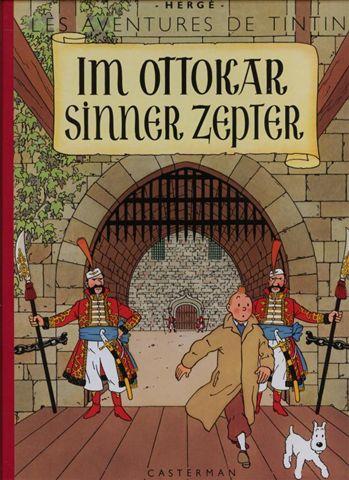 Couverture de Tintin (en langues régionales) -8Alsacien- Im Ottokar sinner zepter
