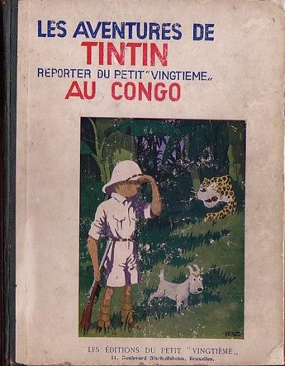 Couverture de Tintin (Historique) -2- Tintin au Congo