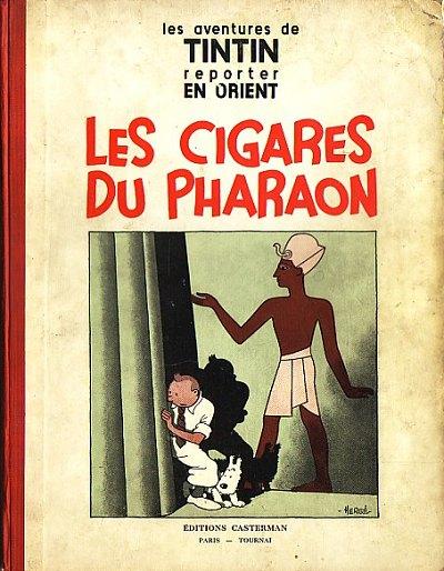 Couverture de Tintin (Historique) -4- Les cigares du pharaon
