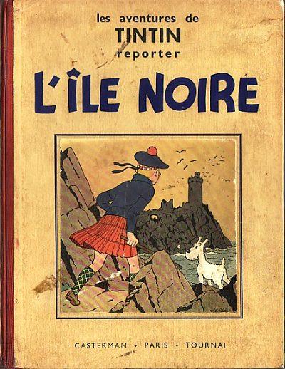 Couverture de Tintin (Historique) -7- L'Île noire