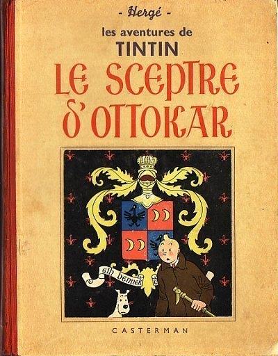 Couverture de Tintin (Historique) -8- Le sceptre d'Ottokar