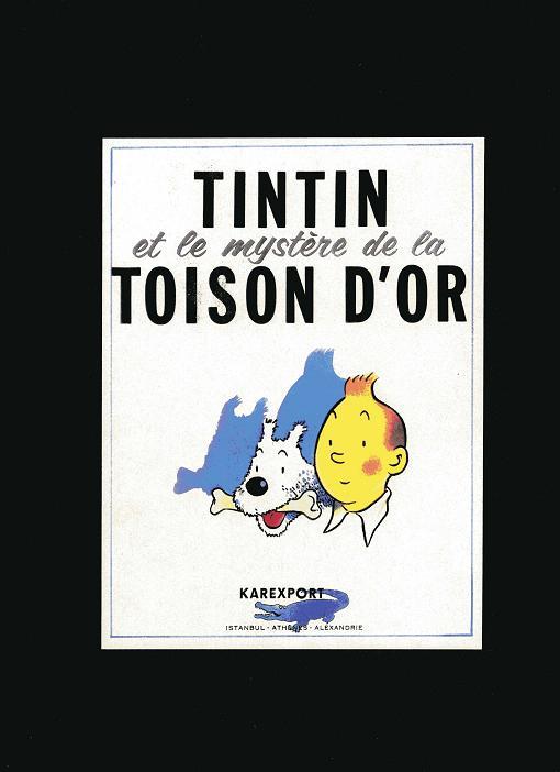 Couverture de Tintin - Pastiches, parodies & pirates -25b- Tintin et le mystère de la toison d'or