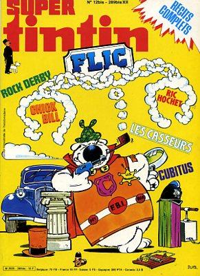 Couverture de (Recueil) Tintin Super -12- Flic
