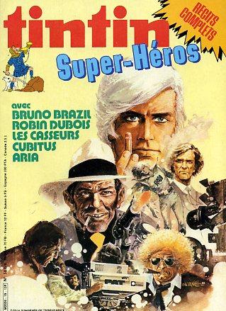 Couverture de (Recueil) Tintin Super -19- Super-Héros